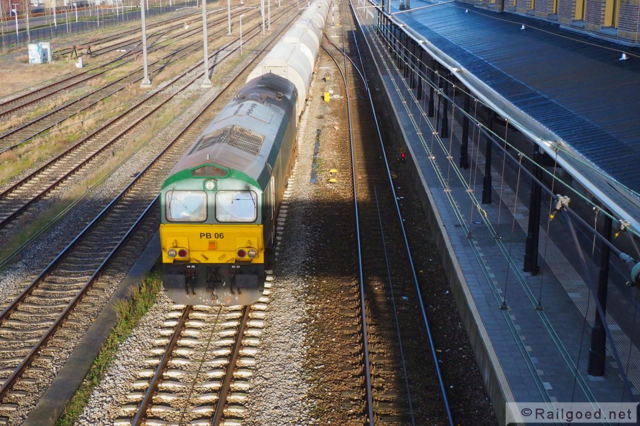 trein sporen maastricht